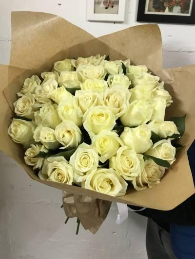 Букеты роз