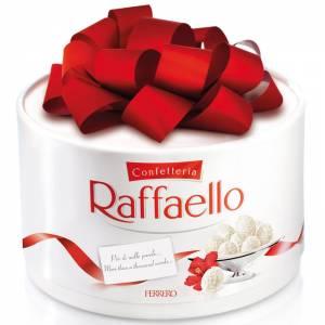 Круглая коробка конфет Рафаэлло R899