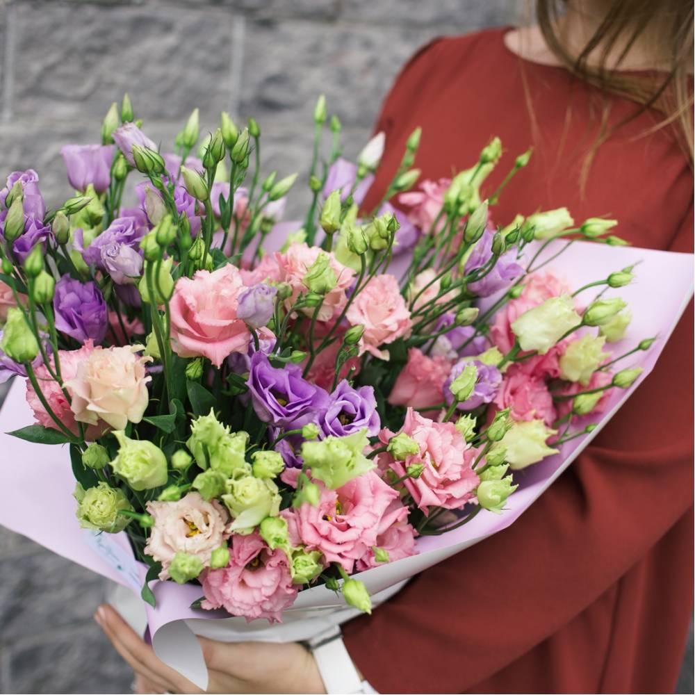 Шикарные букеты с лизиантусом фото, цветов каллы
